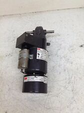 Dayton 1L556 5X400 115/230 VAC 1/14 HP 5.6 RPM Single Phase Gearmotor w/ Brake