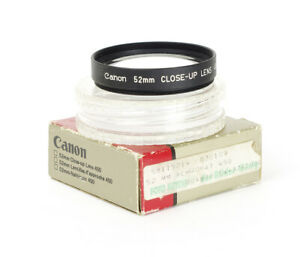 Canon 52mm Close Up Lens 450 Close Up Filter Boxed Nahlinse