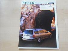 52227) Renault Megane Grandtour Prospekt 12/1999