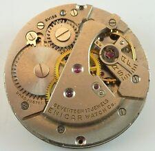 Vintage Enicar Incabloc Mechanical Movement -  Parts / Repair