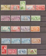 BERMUDA 1953 SG 135/50 & extras LMM Cat £151