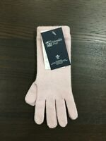 Women's Long Cashmere Gloves | Johnstons of Elgin | Made in Scotland | Baby Pink