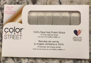 Color Street Nail Strips ~ Dripping In Diamonds ~ NEW, Sealed
