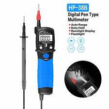Digital Multimeter Handheld Pen Type 600v Acdc Volt Resistance Meter Hp 38b Us
