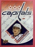 2009-10 Upper Deck Series One Face Of The Franchise #FF2 Alex Ovechkin Capitals
