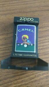 1996 Zippo Camel JOE playing pool mint in black box RJR