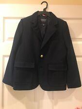 boys navy blue blazer size 10 suit jacket