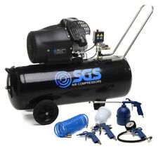 100 Litre Air Compressor & Tool Kit - 14.6 CFM, 3 HP