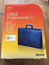 Microsoft Office Professional 2010, versione completa, in inglese con IVA FATTURA