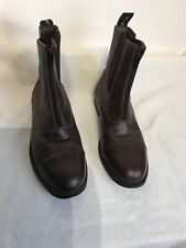 Toggi Mens Brown Leather Zip Ankle Boots Uk 9 Ref Bo6