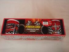 Coca Cola NASCAR Finish Line Chocolate Chip Cookie Coffee Mug Set NIB  2004