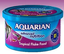Tropical Fish Food 50g Flake Aquarian Advanced Nutrition High in Vitamin C & E
