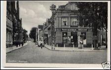 GENTHIN alte Postkarte Ansichtskarte Poststrasse mit Naverma Haus