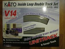 Kato 20-873-1, N Scale, Unitrack V14 Double Track Inner Loop Set, 208731