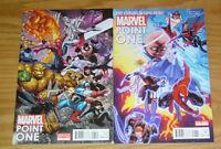 Marvel: Point One #1 VF/NM one-shot + art adams variant - avengers ultron nova