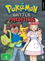 Pokemon - Battle Frontier : Season 9 (DVD, 2011, 6-Disc Set) - Region 4
