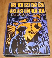 Corporate Bodies by Simon Brett 1991 HB Paris Mystery