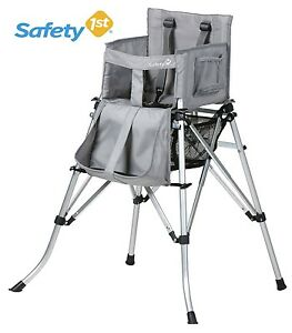 New Safety 1St Quick Sit Folding  Travel High Chair