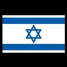 Israeli Israel National Flag Jewish Jew Star of David Large 90 X 150 CM 3 X 5ft
