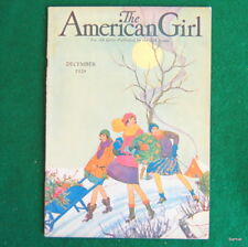 VINTAGE  GIRL SCOUT - 1929 AMERICAN GIRL - DECEMBER