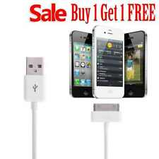 1m 30 Pin to USB Sync Charger Data Cable Lead for iPhone 4s 4 3GS 3G iPad iPod *