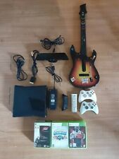 Xbox 360 slim With Guitar Hero,kinect,2× Ome Controllers,15games And Wires