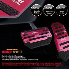 Non Slip Sports Automatic Car Pedal Cover Pads Tunning Pedal Cover Set