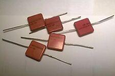 5x Condensatori a mica SANGAMO, 3300pf, 500V NUOVI (NOS)