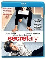 Blu Ray SECRETARY. James Spader. UK compatible. New sealed.