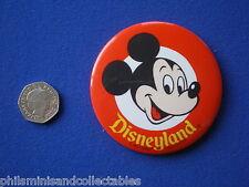Disneyland ' Mickey Mouse '   pin badge   1970s