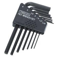 set di chiavi a brugola 0,89mm 1,27mm 1,5 millimetri 2mm 2,5mm 3mm 4mm piccoli