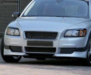 Front Bumper Side Spoiler / Splitters / Elerons For Volvo C30 Prefacelit