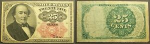 FIFTH ISSUE 25 CENTS US FRACTIONAL CURRENCY - FR 1308