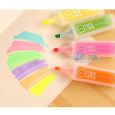 Student's Highlighter Fluorescent Marker Marking Painting Pen Drawing Stationery