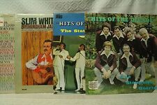 lot 4lp records Slim Whitman Birmingham Jail The Statesmen Quartet Hits of the