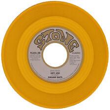 """SWAMP RATS  """"HEY JOE""""   BRUTAL 60's GARAGE  GOLD VINYL   LISTEN!"""