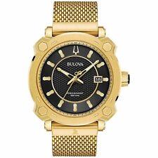 Bulova 97B163 Special Grammy Edition Precisionist Men's Watch Gold 44mm