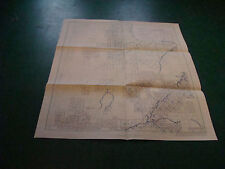 Original Index to Topographic Mapping in UTAH jan 1958 aprox 20 x 25, added X's