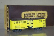 BINKLEY KIT BUILT HOn3 NARROW GAUGE DSP&PRR DENVER SOUTH PARK REEFER BOX CAR 606