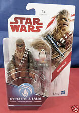 Star Wars The Last Jedi Force Link Chewbacca Action Figure #C1536 Disney/Hasbro