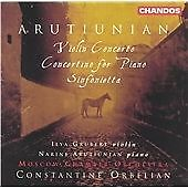 Arutiunian: Violin Concerto / Sinfonietta / Concertino for Piano, , Excellent CD