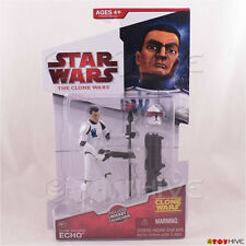 Star Wars - The Clone Wars Clone Trooper Echo CW17 2009 Animated action figure