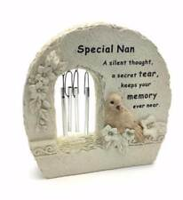 Special Nan Windchime Grave Memorial Remembrance Plaque Ornament DF15840C