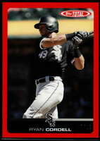 Ryan Cordell 2019 Topps Total Red #682 /10
