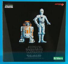 Kotobukiya Star Wars Celebration 2015_R3-A2 & K-3PO 1/10 Scale Model Kit_New_MIB