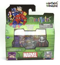 Marvel Minimates Best Of Series 3 Classic Hawkeye & Lab Attack Ant-Man