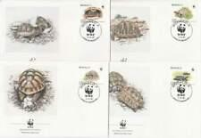 WWF 4 x FDC Monaco 1991 - Schildpad / Turtle (213)