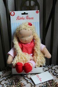 KATHE KRUSE Waldorf Doll, Soft Doll Amelie 38cm