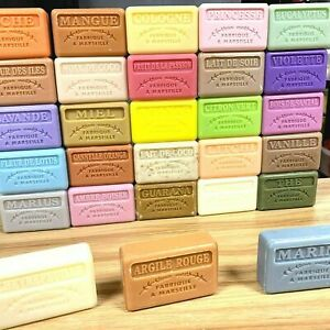 X3 Soap Savon de Marseille Natural Soap 125g Made in France PART A