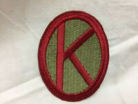 Vintage Military Army 95th Infantry Division Patch Badge Type 1 I Variant 95